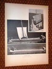 Trireme Romana Comandante Speziale e Barche Navi Romane