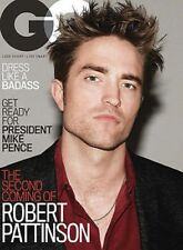 GQ GENTLEMEN'S QUARTERLY SEPTEMBER 2017 ROBERT PATTINSON THE SECOND COMING