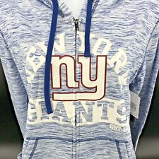 New York Giants Women's Space Dye French Terry Hoodie Size Adult Small - NEW -g