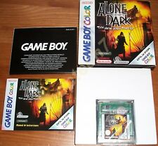 Alone in the Dark-The New Nightmare pour Nintendo Game Boy Color ou GBA