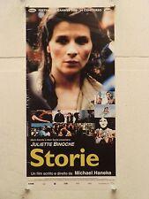 STORIE drammatico regia Michael Haneke locandina orig. 2000