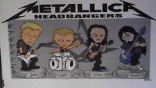 Vintage Metallica poster 61cm x 87cm approx