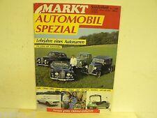 MARKT SONDERHEFT 7,BMW V8,FORD,JAGUAR,MORGAN,OPEL