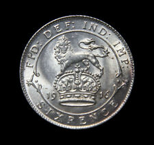 More details for george v 1916 sixpence low unc