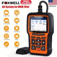 Foxwell NT510 Elite For BMW Full System OBD2 Scanner ABS SRS DPF TPMS EPB Reset