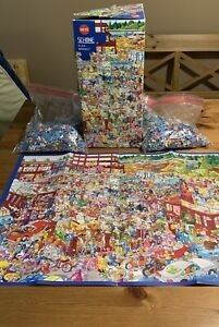 Heye Triangular Schone FLEA MARKET 2000 piece Jigsaw Puzzle