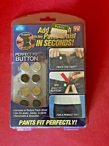 8 Replacement Button Increase Fix Pants Waist Jeans Denim Extenders Metal Fit