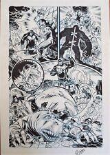 PAGINA ORIGINAL: KING KONG VERSUS GODZILLA ORIGINAL COMIC ART PAGE ROGER BONET