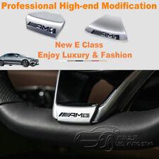 Car Sticker Badge Steering Wheel AMG Logo Emblem For Mercedes Benz 16-18 E/C