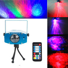 RGB Water Wave Projector DJ Disco Club 7 LED Light Stage Party Laser Lighting UK