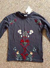ZARA Girls' Long Sleeve Sleeve Cotton Blend T-Shirts & Tops (2-16 Years)