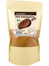 (49,80 EUR/Kg) Edelmond Bio rohes Kakaopulver, 100% pur und entölt - 500g