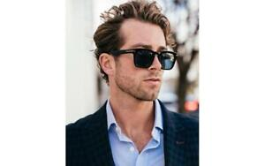 Tom Ford DAX TF 751 01A FT751 Black Wt Grey Lenses Sunglasses Sonnenbrille 50mm