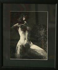 """""""La femme""""dessin signé DUBIGEON Loic"""