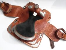 "CIRCLE Y 16"" EQUITATION SHOW SADDLE HAND MADE LEATHER MADE IN USA WESTERN HORSE"