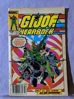 G.I. Joe Yearbook Comic Book Lot Issues #2 3 4 Marvel Comics 1986 - 1988 Readers