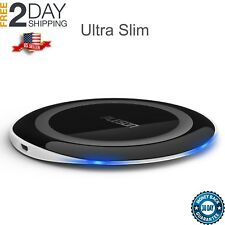 Samsung Galaxy S7/S7 Edge Slim Qi Wireless Fast Charger Charging Stand Pad NEW