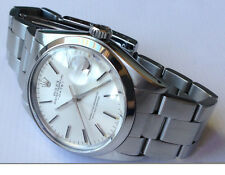 genuine rolex stainless oyster perpetual date 1500 silver 1501 1016 1680 5513
