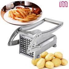 Kartoffelschneider Edelstahl Pommesschneider Stahl Schneidemaschine Set