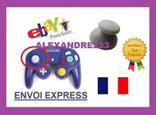bouton réparation manette game cube joystick gris stick gris - vendeur pro -