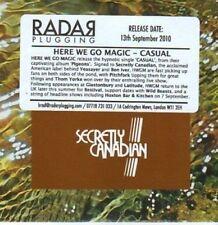 (BI607) Here We Go Magic, Casual - 2010 DJ CD
