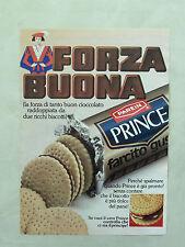D831- Advertising Pubblicità -1980- FORZA BUONA , PRINCE . PAREIN