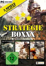 Strategieboxxx/Age of Conquest Tropical + Desert Stormfront 2013 DVD-Box ovp/PC