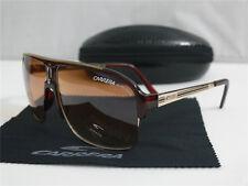 New Men Women Retro Sunglasses Fashion Square Metal & Plastic Glasses Brown +Box