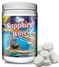 More details for chlorine tablets for hot tub spa jacuzzi swimming paddling pool  50x20g tubs