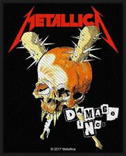 OFFICIAL LICENSED - METALLICA - DAMAGE INC. SEW ON PATCH METAL HETFIELD
