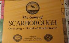 GAME OF SCARBOROUGH MAINE 350TH SCARBOROUGH VOLUNTEER POLICE DEPT. EXT RARE.