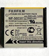 FUJIFILM NP-50 Rechargeable Li-Ion Battery 3.6V 1000mAh