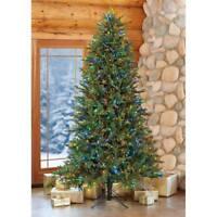 7.5′ Pre-Lit LED Christmas Tree Surebright Dual Color EZ Connect