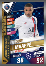 TOPPS MATCH ATTAX 101 2019 2020 19 20 MBAPPE COLLECTORS TEAM CARD TS9