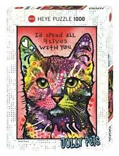 HEYE JOLLY PETS PUZZLE 9 LIVES DEAN RUSSO CATS 1000 PCS #29731