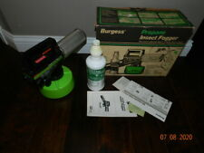 Burgess Portable Propane Lawn Insect Fogger w/ insecticide
