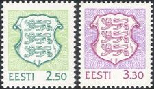 Estonia 1996 State Arms/Lions/Coats-of-Arms/Heraldry/Animals 2v (ee1124)