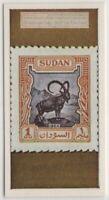 Ibex On Sudan Postage Stamp Vintage Ad Trade Card