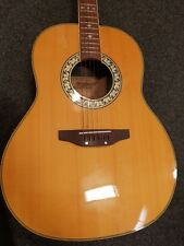 Tanglewood Ovation Style Electro acoustic guitar.