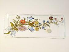 Vintage Dorothy Thorpe California Wildflowers Design Tray Signed Mid-Century Mod