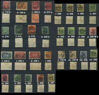 DR ex 110 - 328, Inflation, Stempel + Farben geprüft; bitte auswaehlen! #g756