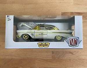 M2 Machines 1:24 WEIAND 1957 Chevrolet Bel Air Hardtop CHASE 1 of 500