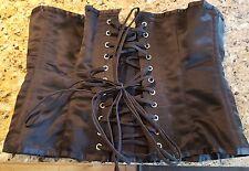 Vollers black 28 inch steel boned corset