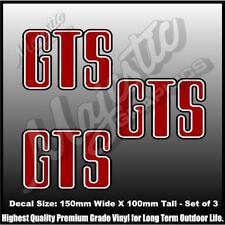 GTS - Holden - MONARO HJ - 150mm x 100mm - Set of 3 - DECALS