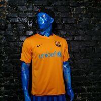 Barcelona Barca Jersey Away shirt 2006 - 2008 Orange Nike 146982-819 Mens Size L