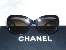 100% authentic CHANEL Sunglasses 5240, Black, Tweed Arms, with case and box
