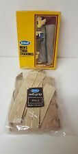 Scholl Men's Thigh stockings With Mens Suspenders Size 3(Vintage)b33