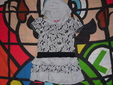 DISNEY Minnie Mouse Dress With Hood. Age 2-3 Years Grey