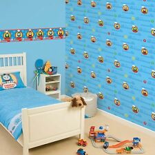 THOMAS AND FRIENDS WALLPAPER BORDER KIDS BOYS ROOM DECOR 5M