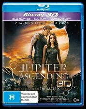 Jupiter Ascending (3D Blu-ray, 2015, 2-Disc Set)